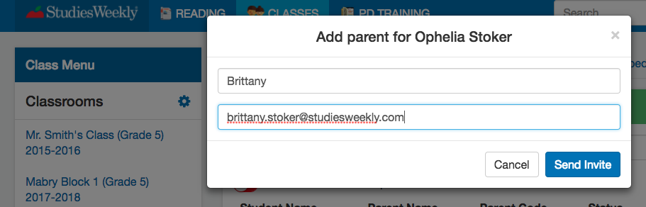 Studies Weekly Parent Accounts
