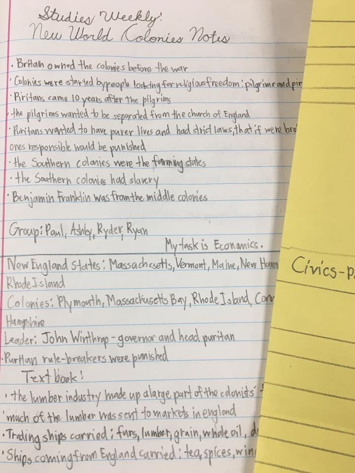 Student paper