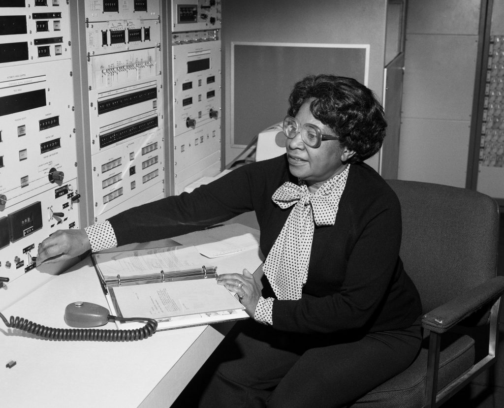 NASA's first black female engineer