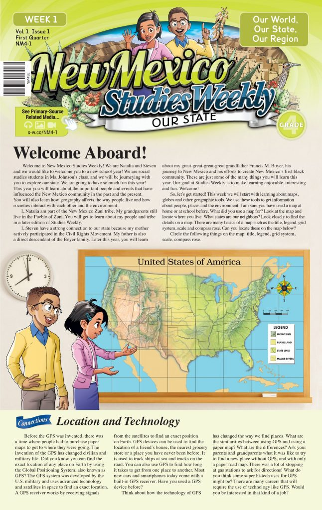 New Mexico studies weekly