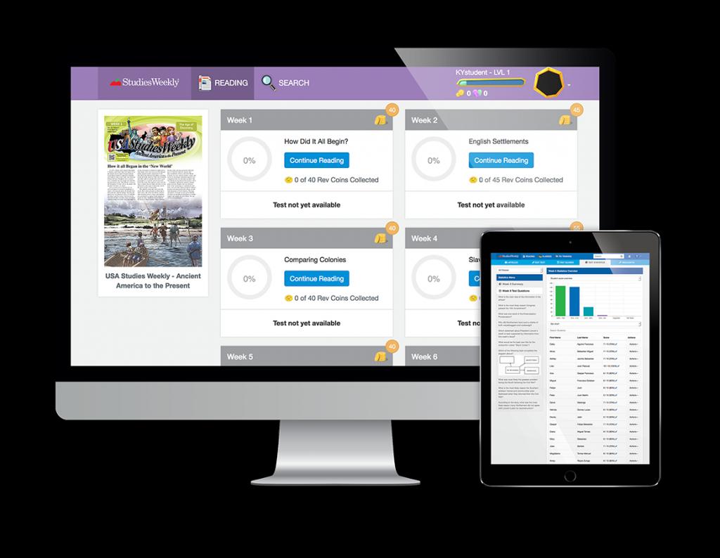 Studies Weekly Online Platform