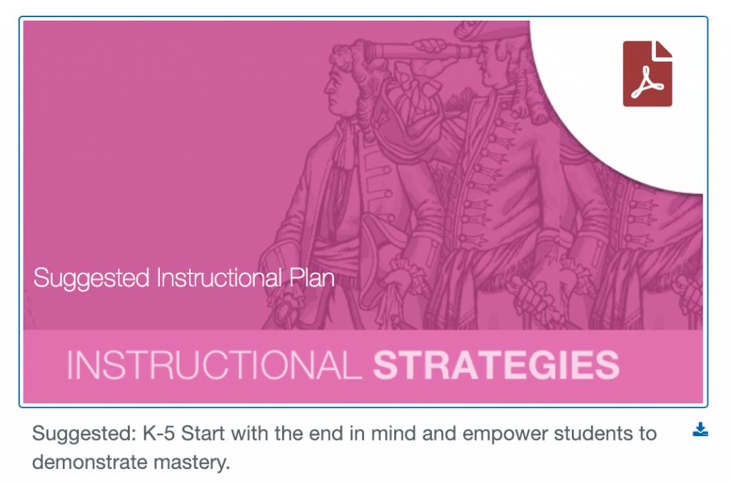 Studies Weekly unit planning