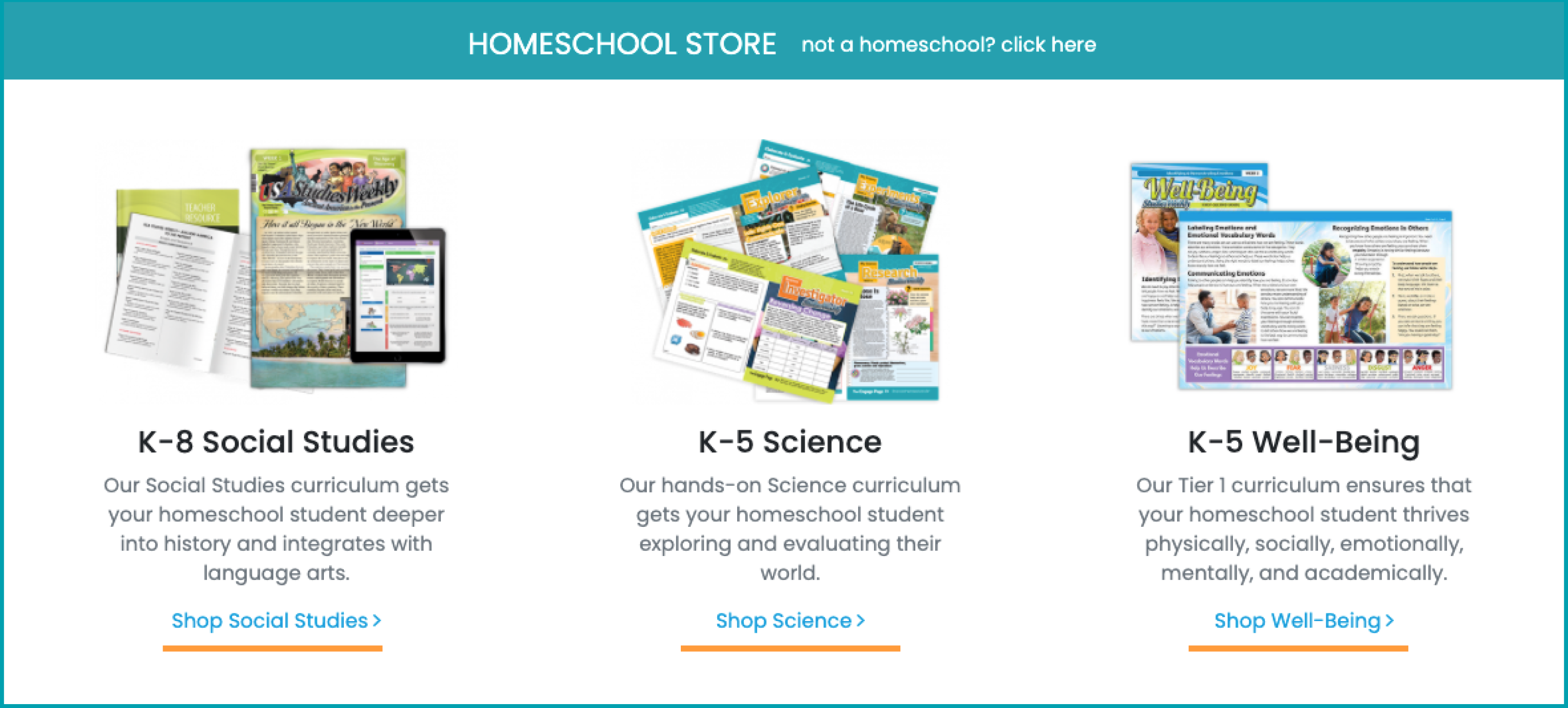Ordering from Homeschool