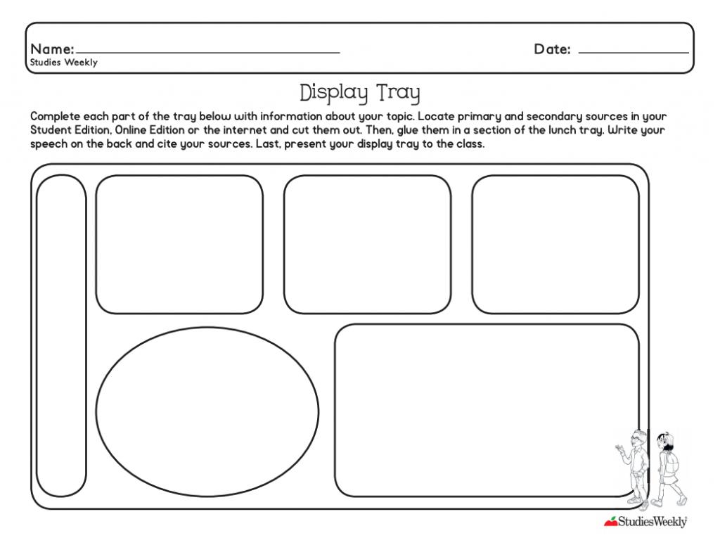Studies Weekly Display Tray PDF