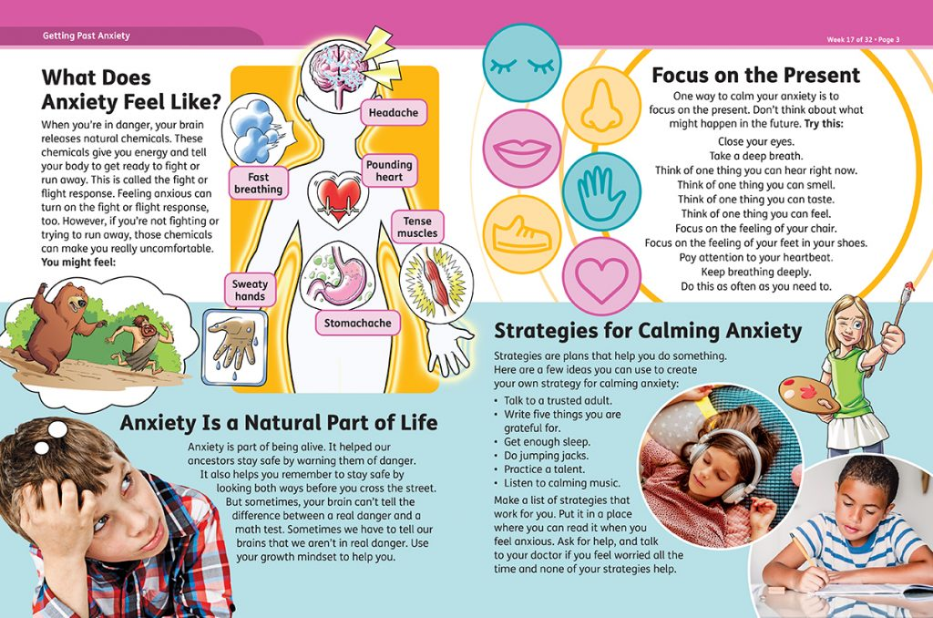 Studies Weekly Well-Being Curriculum Anxiety Article