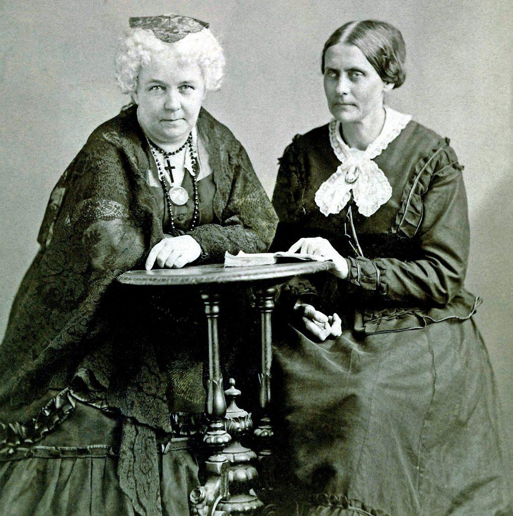 Napoleon Sarony Elizabeth Cady Stanton and Susan B. Anthony