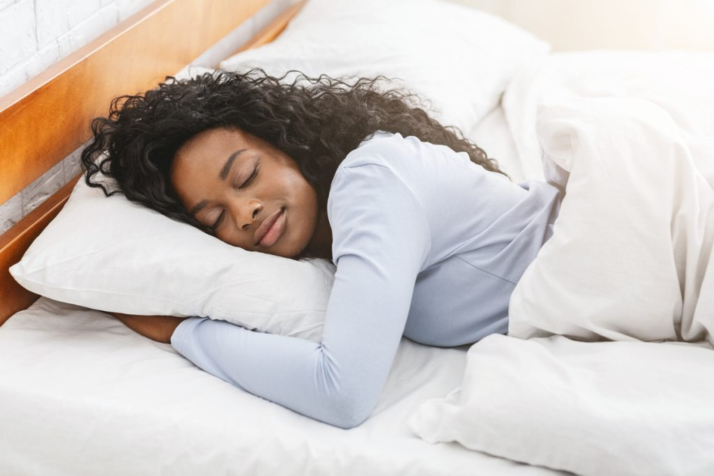 sleeping for well-being