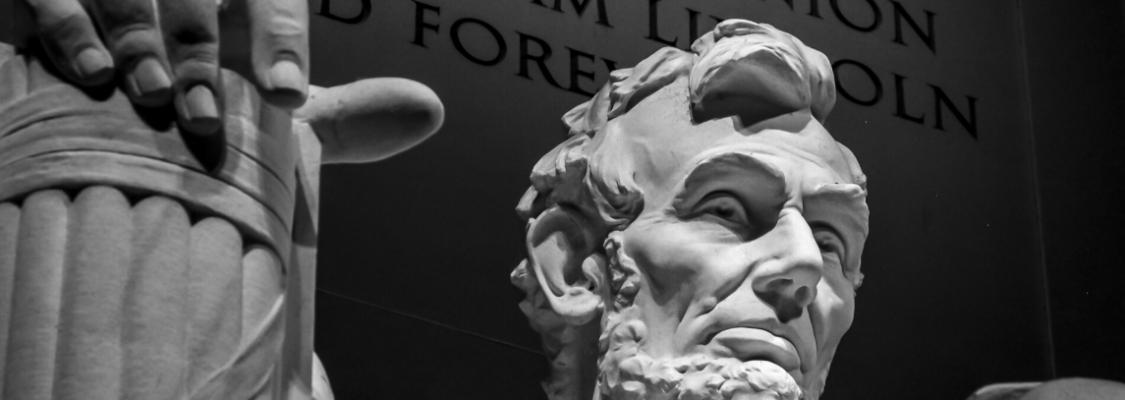 Portrait of Abraham Lincoln Memorial