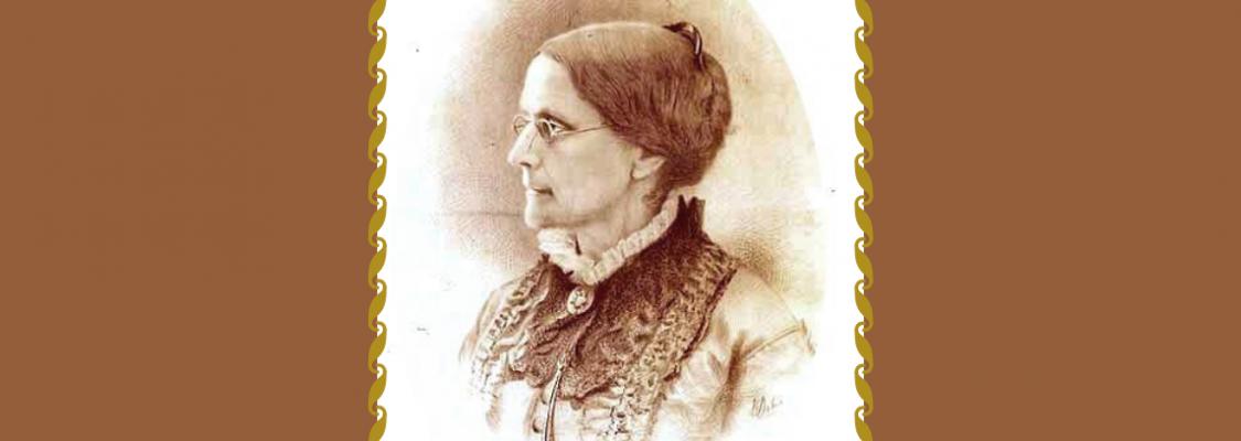 Susan B Anthony Portrait