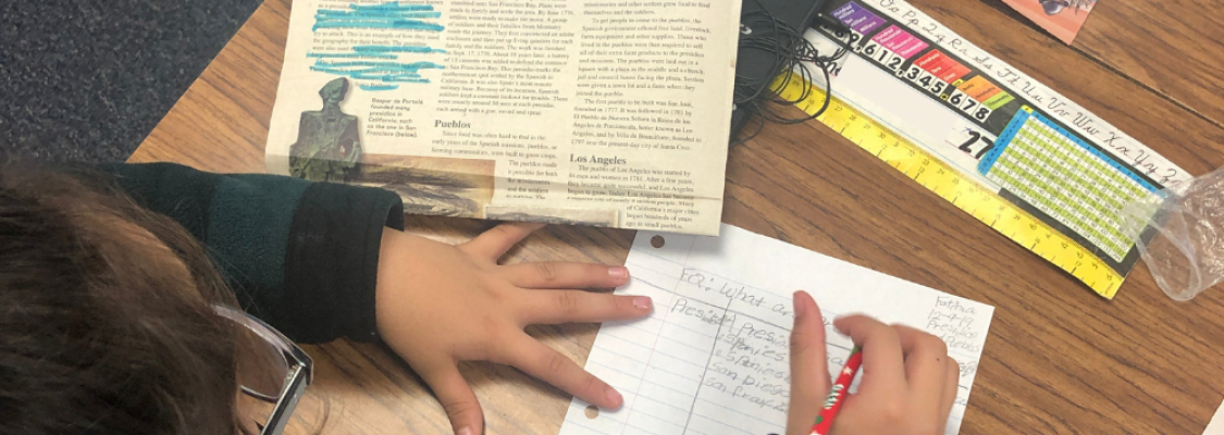 Jen Mello's Students use Studies Weekly